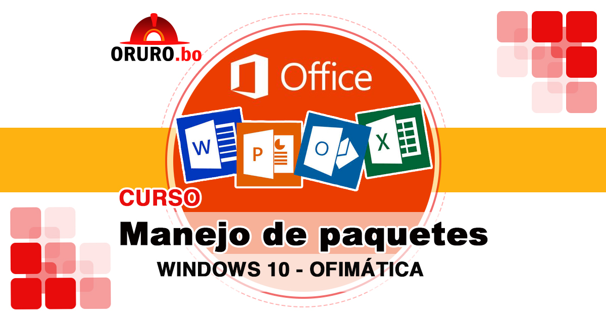 4 Cursos Windows Word Excel PowerPoint